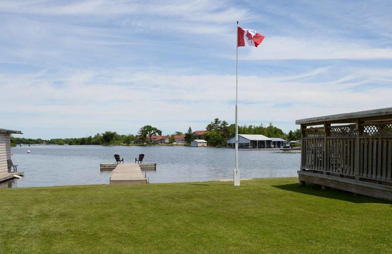 Lake view at Sunnylea Resort