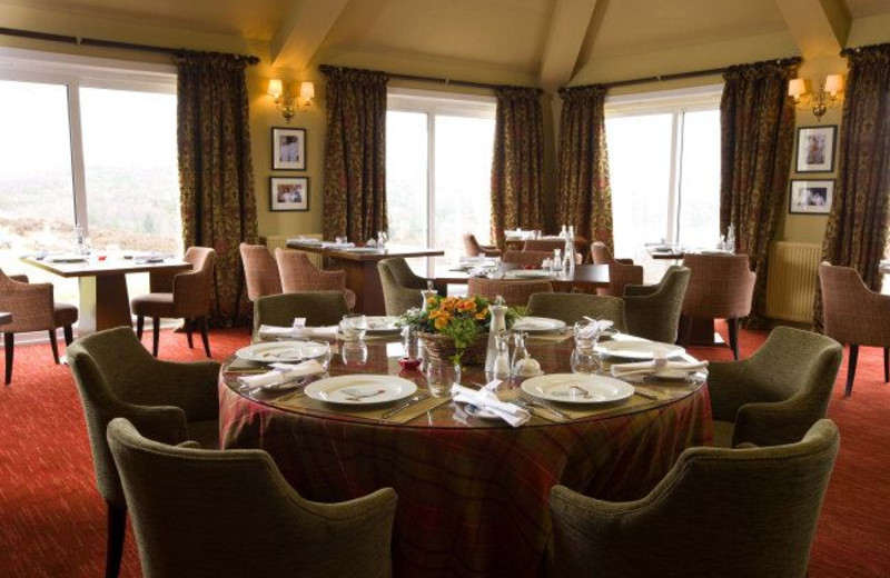 Dining at Inver Lodge Hotel.