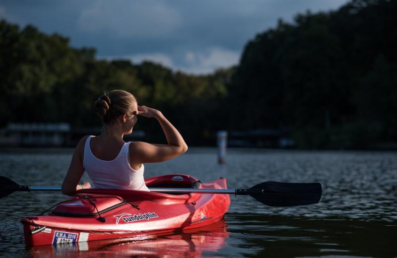 Kayaking at Ferringway Condominiums.
