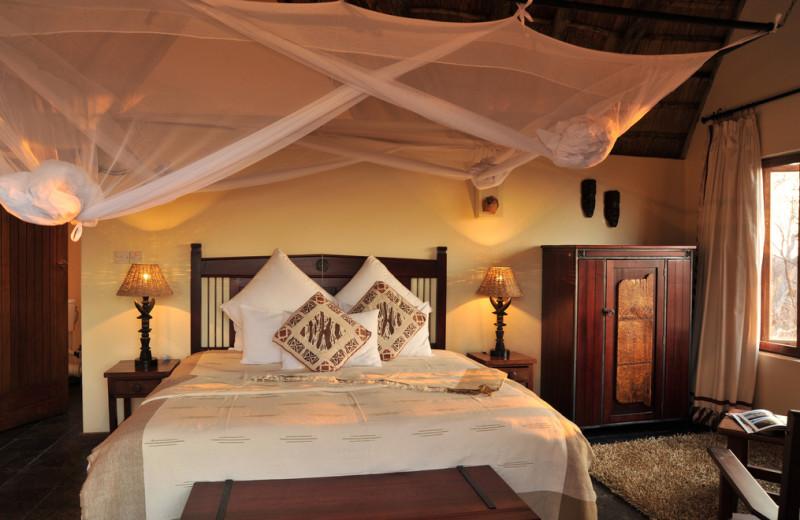 Guest room at Muchenje Safari Lodge.