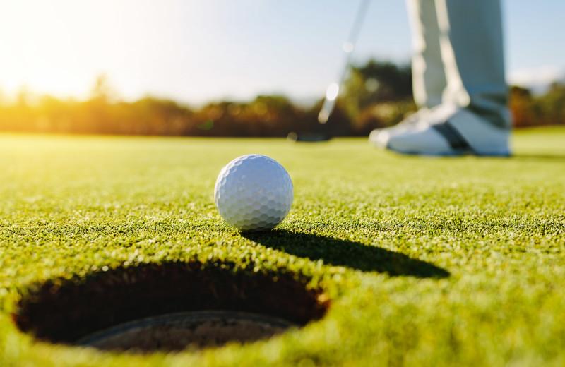 Golf near Four Seasons Resort.