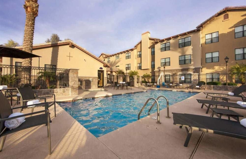 Outdoor pool at Residence Inn Phoenix Goodyear.