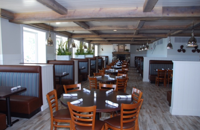 Dining at Quarterdeck Resort.