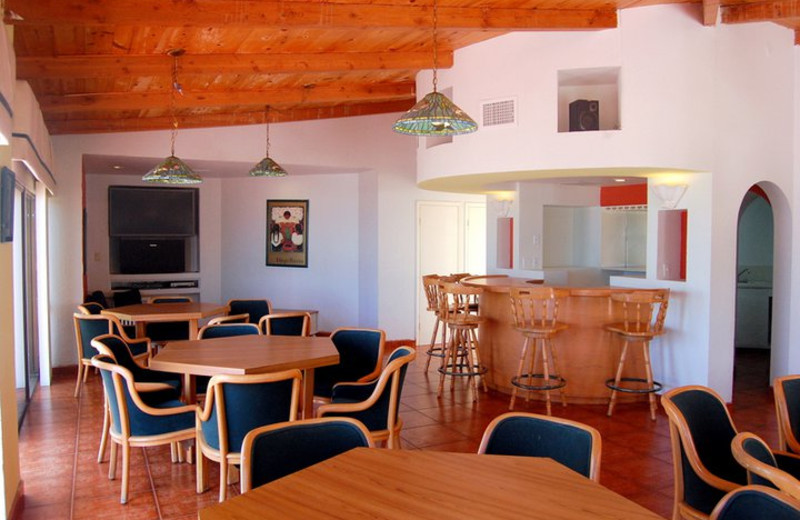 Oceana Del Mar Dining Area at  Rosarito Inn Condominiums
