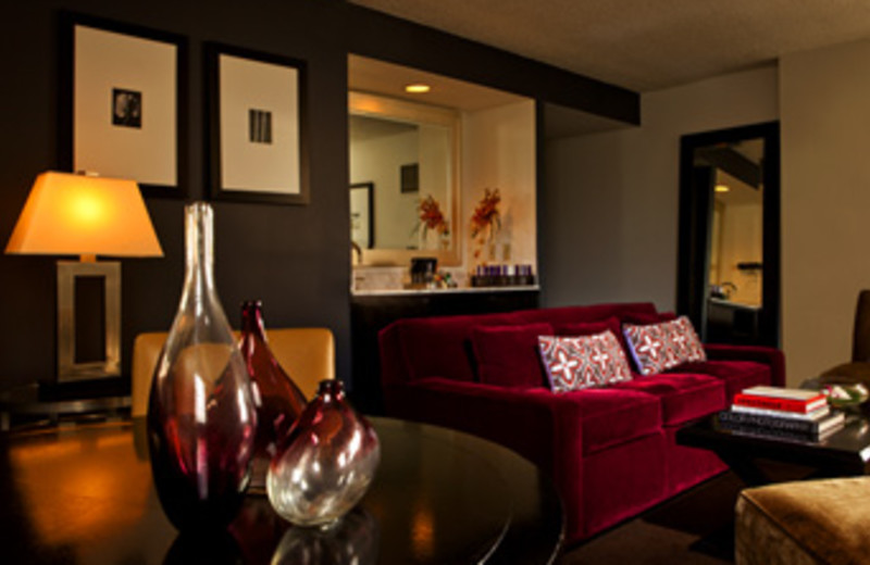 Living Room at W New Orleans