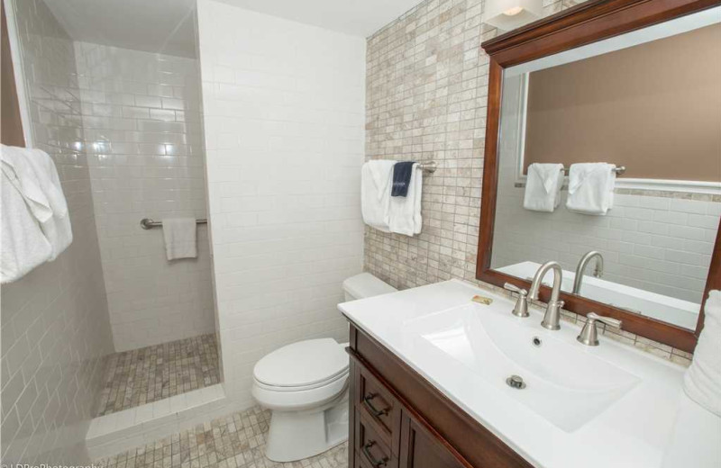 Bathroom at Holiday Isle Properties - Dolphin Point 103B.