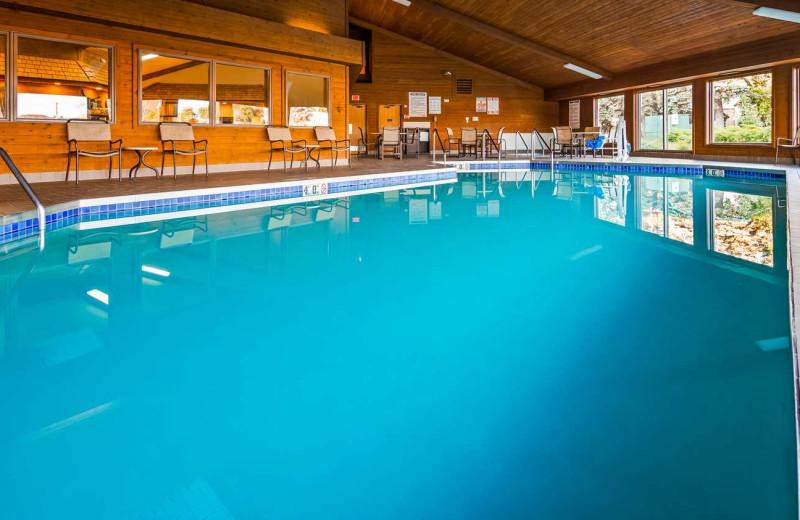 Indoor pool at Best Western Maritime Inn.