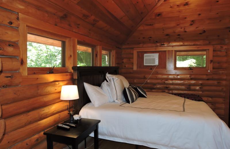 Rental bedroom at At The Lake Vacation Rentals.