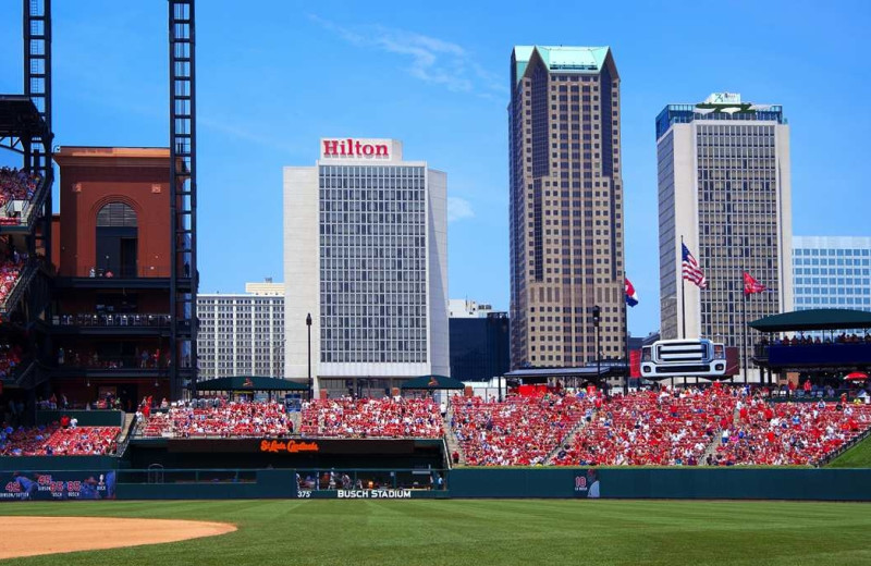 Exterior view of Hilton St. Louis at the Ballpark.