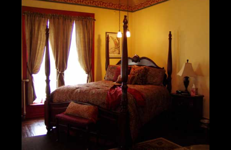 Guest room at Spencer House Bed & Breakfast.