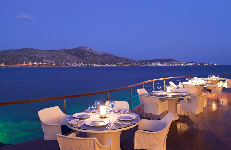 Dining at Grand Resort Lagonissi.