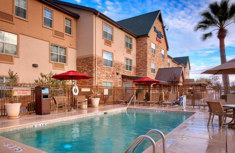 Outdoor pool at TownePlace Suites Sierra Vista.