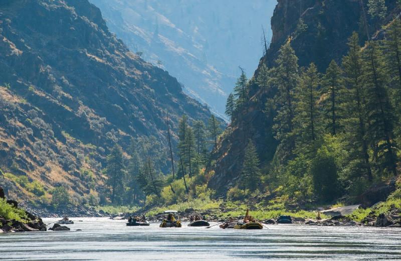 Rafting at Salmon River Tours.