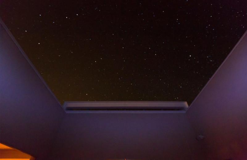 Sky window at Adobe Zen House.