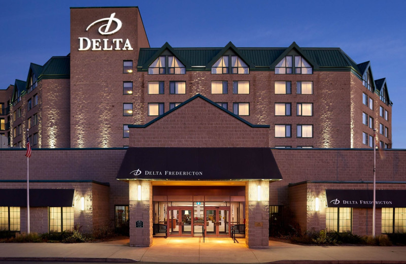Exterior view of Delta Fredericton.