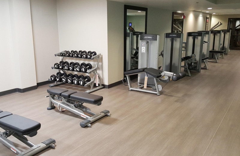 Fitness room at Holiday Inn Club Vacations at Orange Lake Resort.