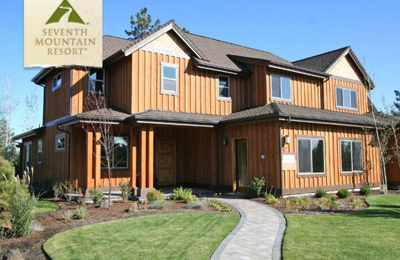 Townhome Exterior at Seventh Mountain Resort