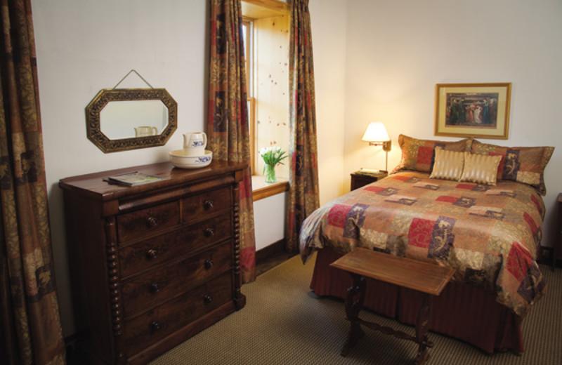 Guest room at the Millcroft Inn & Spa.
