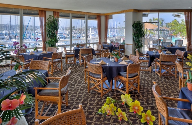 Waterfront Bay Club Bar and Grill at Bay Club Hotel.