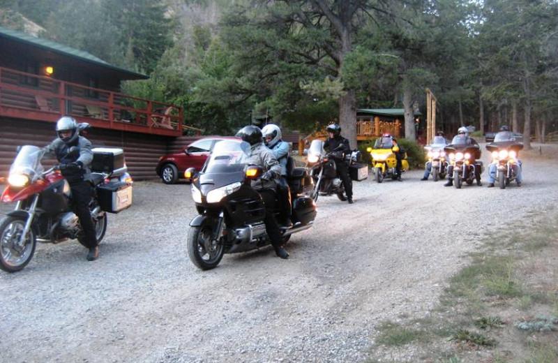 Riding into Bill Cody Ranch