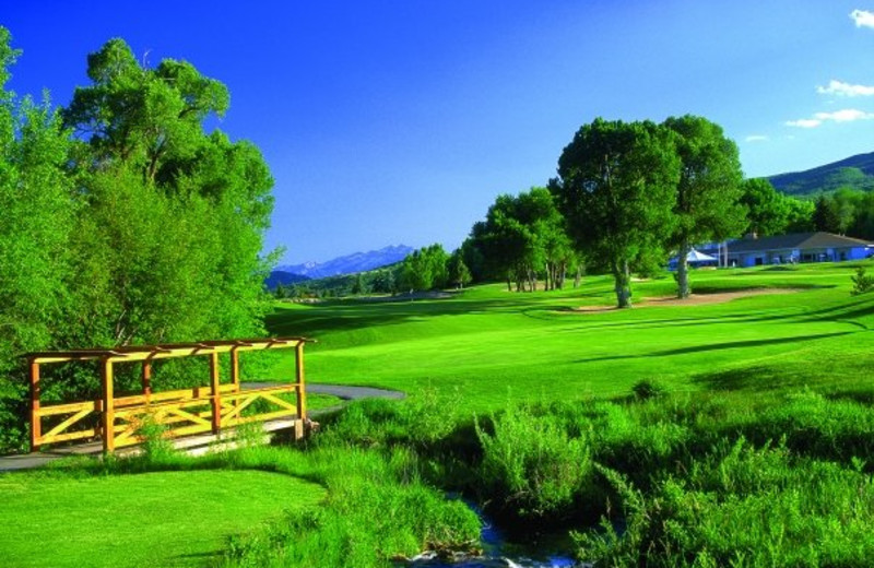 Golf course at Homestead Resort.