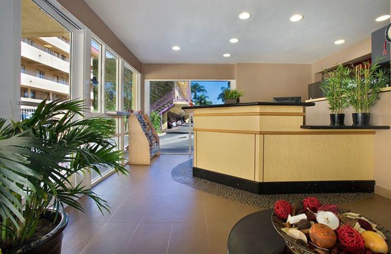 Lobby at Del Sol Inn