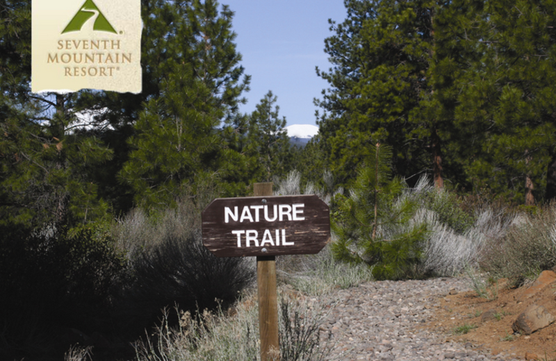Scenic Nature Trails at Seventh Mountain Resort