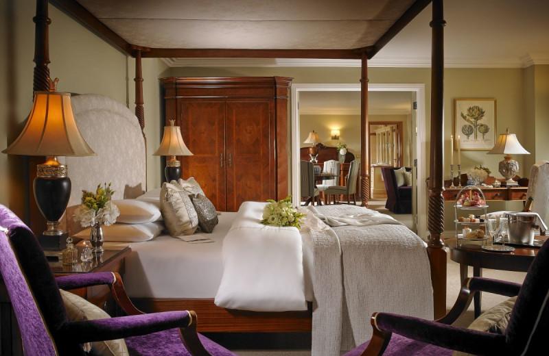 Guest room at Killashee House Hotel & Villa Spa.