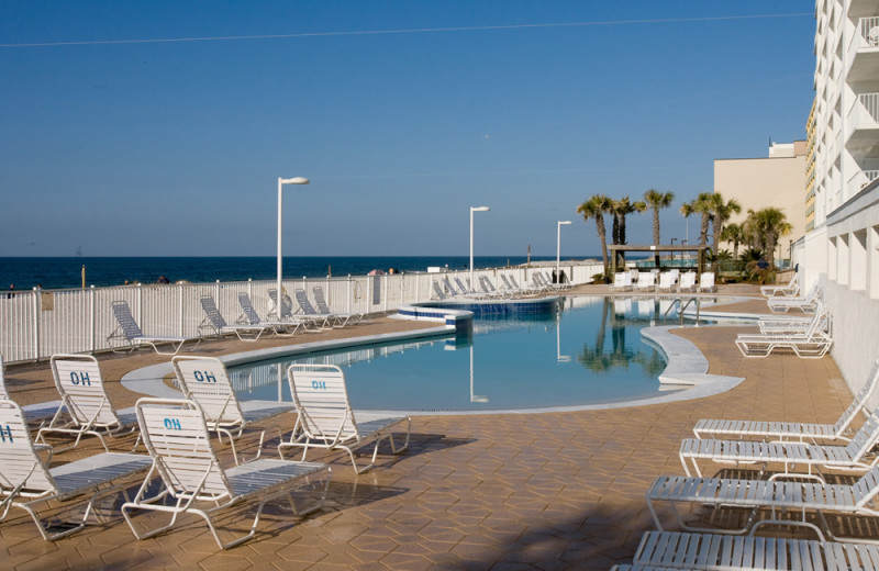 Rental pool at Gulf Shores Rentals.