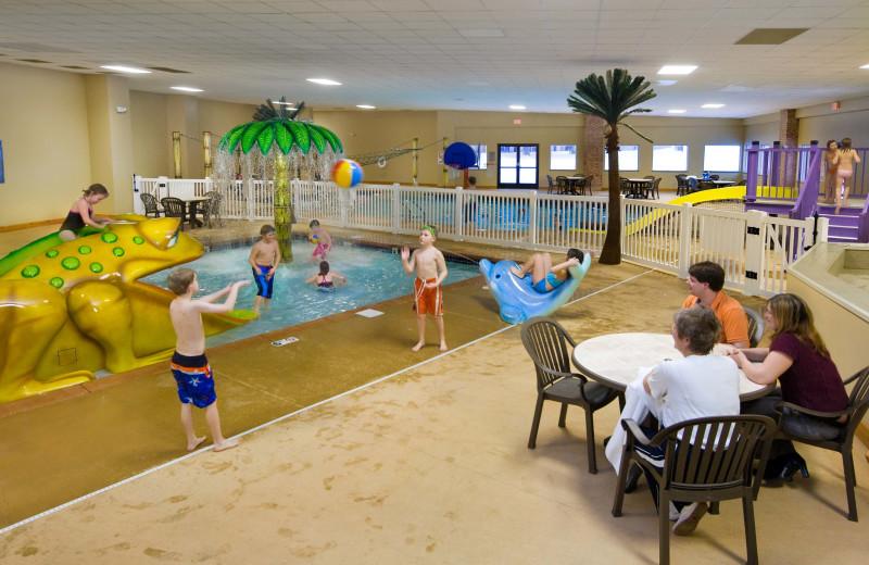 Indoor pool at Arrowwood Resort & Conference Center.