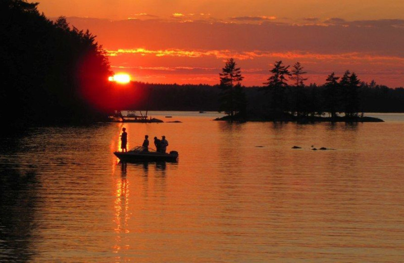 Fishing at All-Season Cottage Rentals.