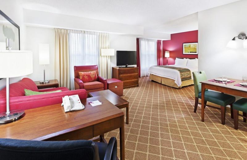 Guest room at Residence Inn Austin Northwest.