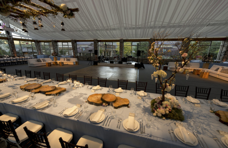 Wedding at Sonora Resort and Conference Centre, Canada.