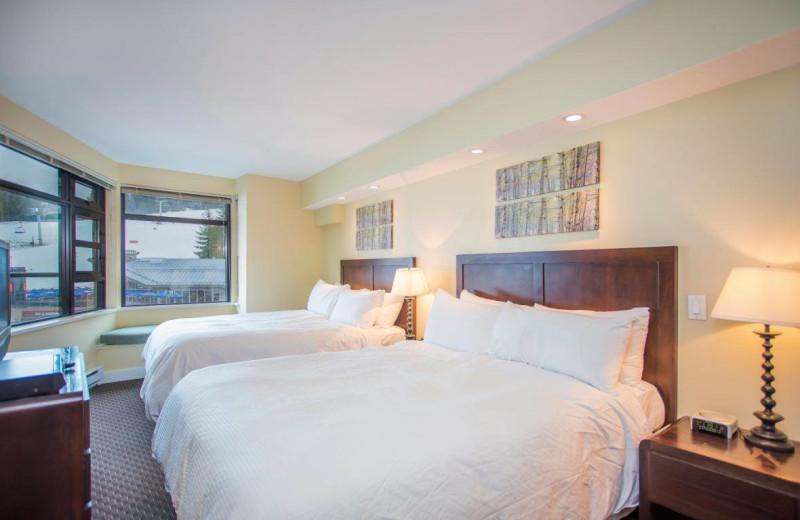 Guest room at Carleton Lodge.