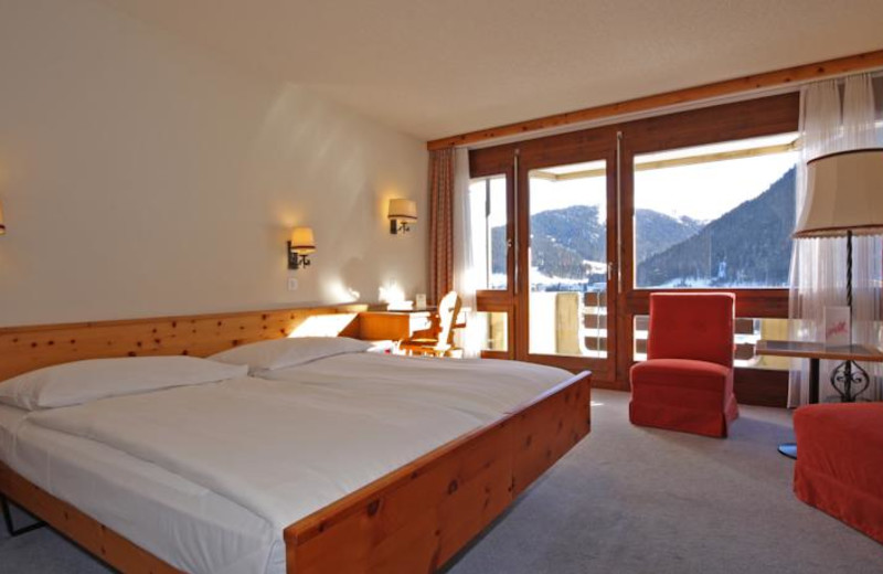 Guest room at TOP Central Sporthotel.