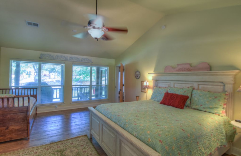 Bedroom at Summer Cove.