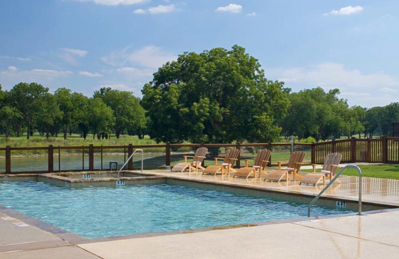 Outdoor pool at Hyatt Regency Lost Pines Resort and Spa.