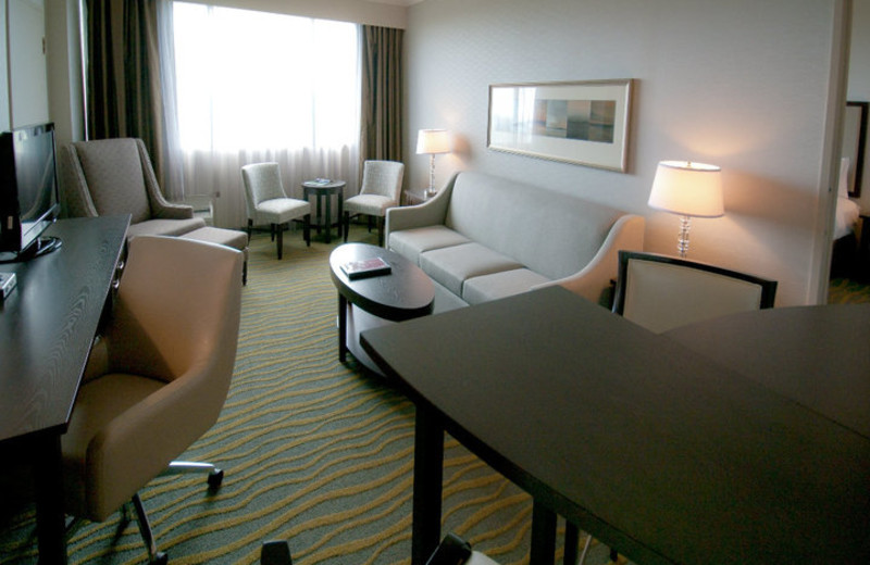Suite Interior at Atlantica Hotel
