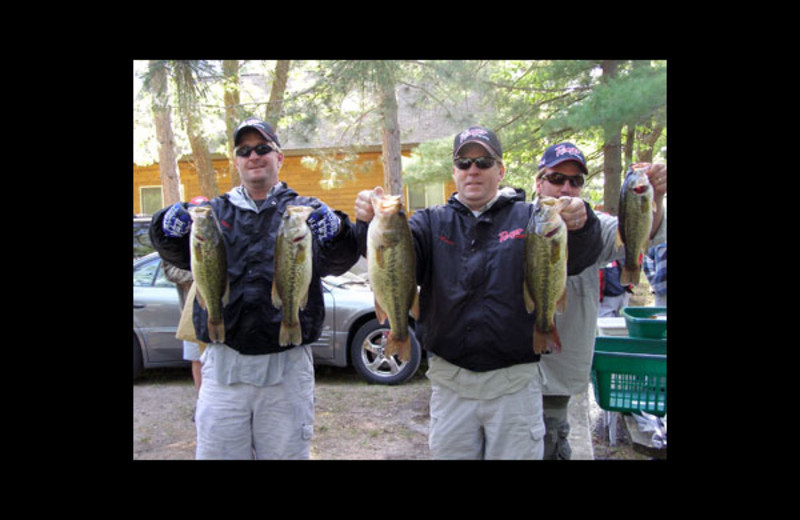 Fishing at Stoffel's Shady Oaks Resort.
