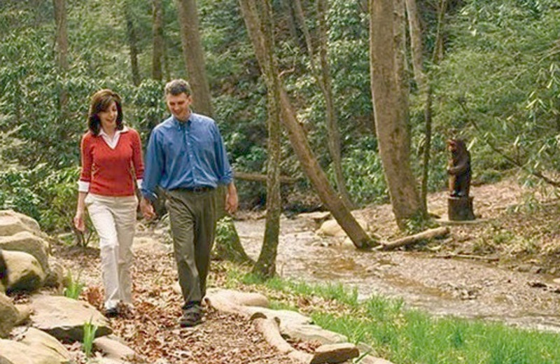 Nature Walk at The Lodge at Buckberry Creek