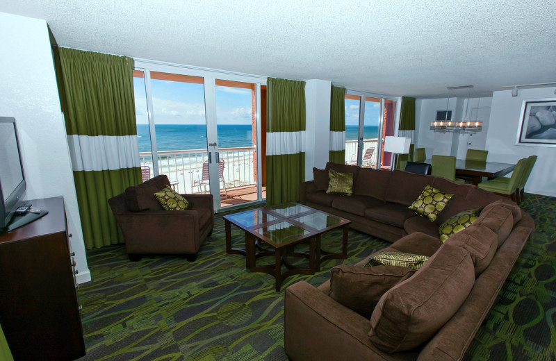 Suite view at Perdido Beach Resort.