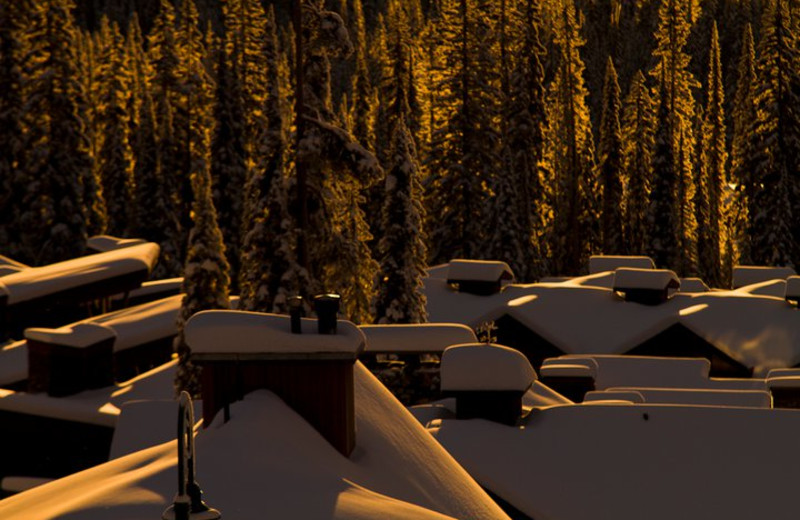 Winter time at Big White.