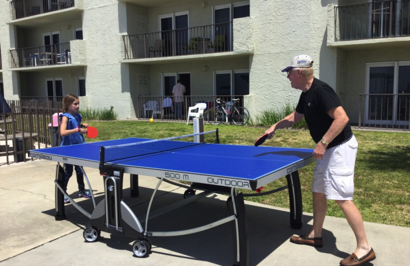 Ping Pong at Moonspinner Condominium.