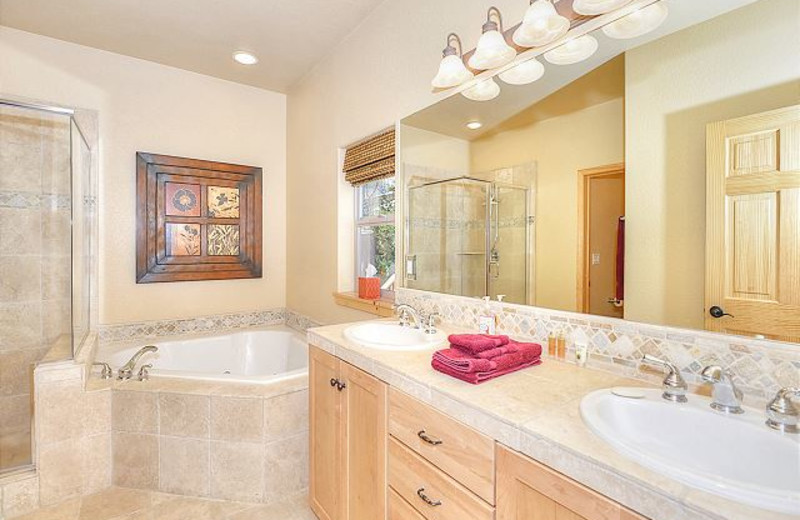 Guest Bathroom at Tahoe Signature Properties