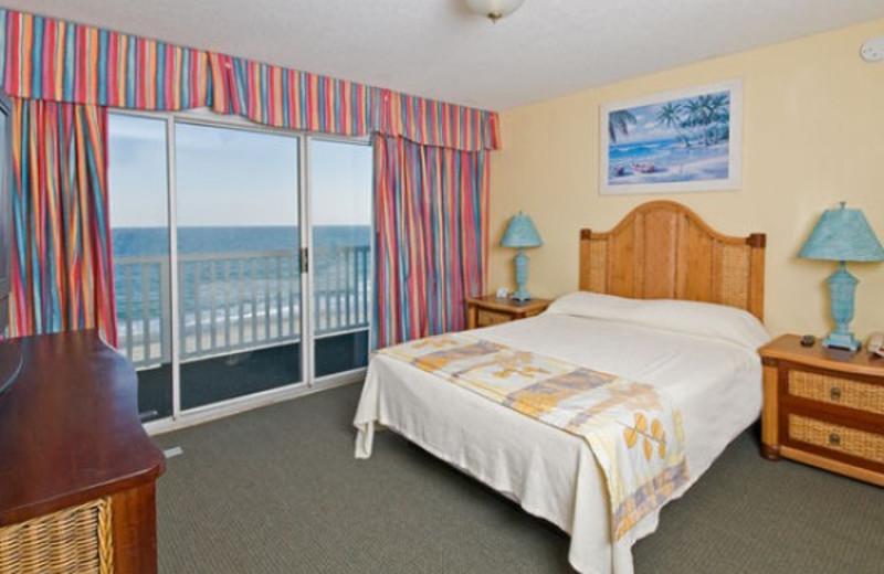 Guest bedroom at Caribbean Resort & Villas.