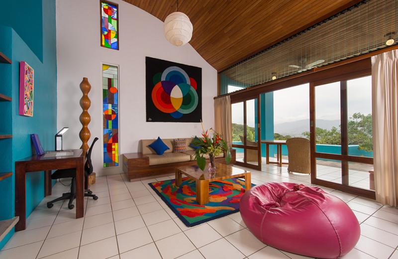 Guest room at Xandari Plantation.