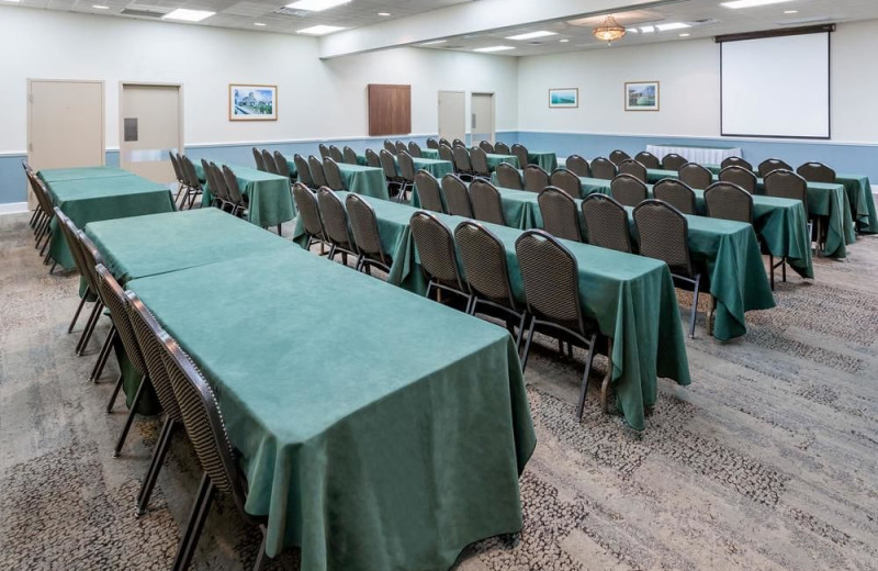 Meeting room at Ramada Plaza Nags Head Oceanfront.