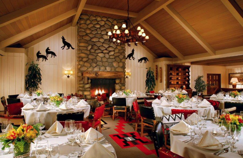 Dining room at Alisal Guest Ranch and Resort.