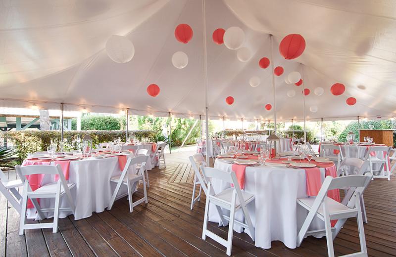 Wedding reception at The Winds Resort Beach Club.