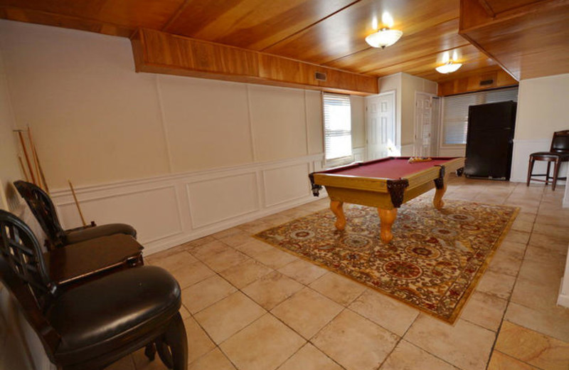 Rental interior at Elliott Beach Rentals.